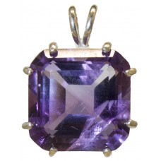Amethyst Earth Heart Crystal™