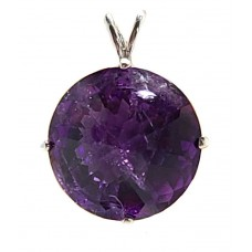 Amethyst Radiant Heart Crystal™