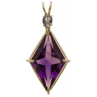 Amethyst Ascension Star™ with Oval Cut Tanzanite