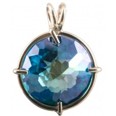 Aqua Aura Radiant Heart Crystal™