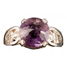 Amethyst Radiant Heart Crystal™ Ring
