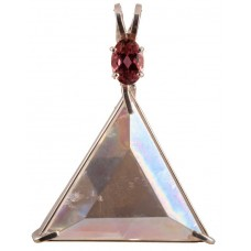 Angel Aura Star of David™ with Oval Cut Pink Tourmaline