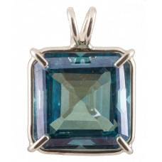 Aqua Aura Earth Heart Crystal™