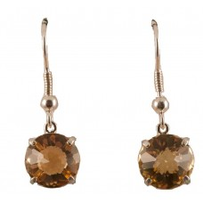 Citrine Radiant Heart Crystal™ Earrings