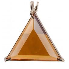 Siberian Gold Quartz Star of David™