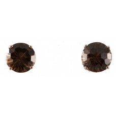 Smokey Quartz Super Nova™ Post Earrings